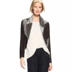 Cabi Wool Blend Open Front Cardigan